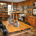 Historical Muhlenberg County icons on display at Thistle Cottage.